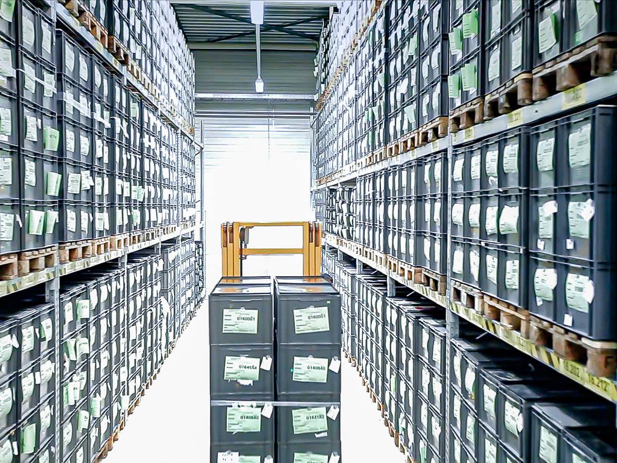 Kompetenzen Logistik Lager helag-electronic Nagold