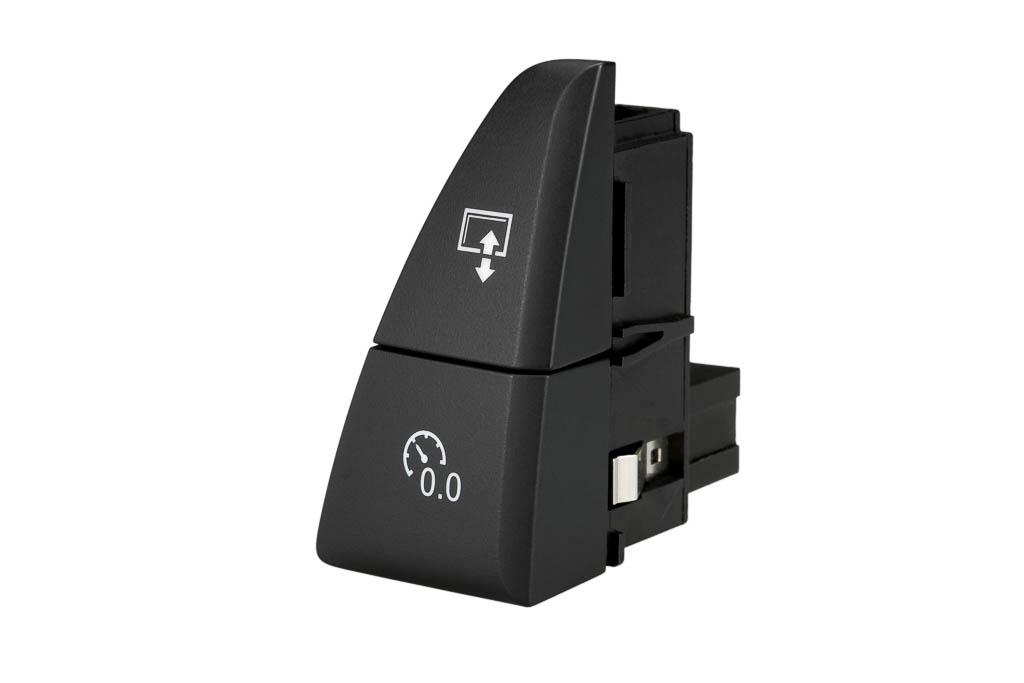 Tageskilometer Rücksteller mit Display on-off, Produkt helag-electronic Nagold, Automobilzulieferer