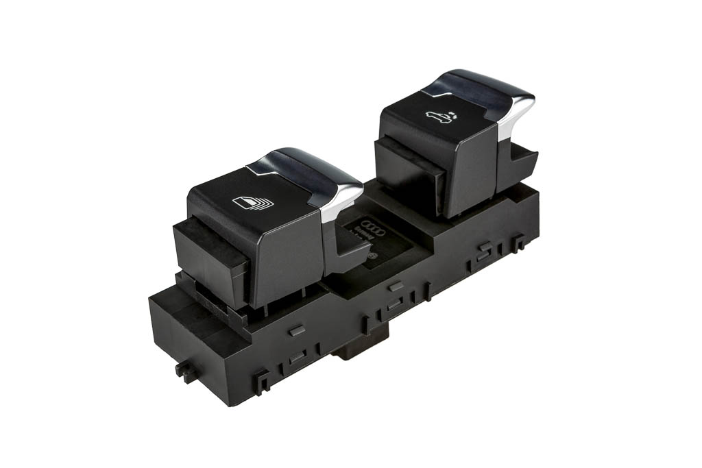 convertible roof switch, a product by helag-electronic Nagold, automotive supplier