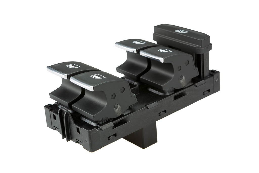 window winder module, a product by helag-electronic Nagold, automotive-supplier